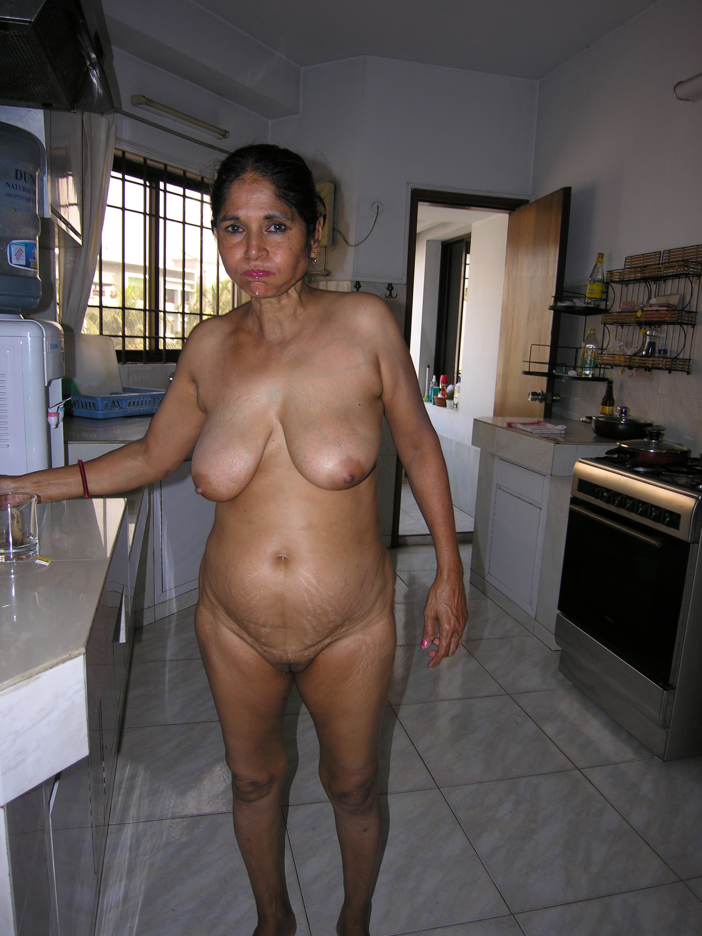 indian Granny nude